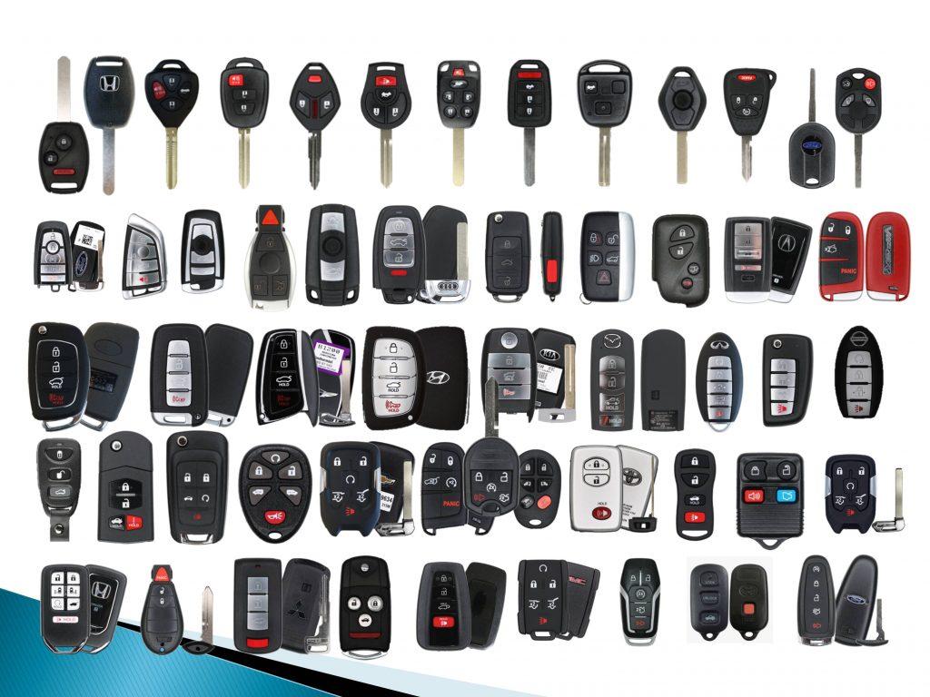 Car Keys ,fob and remotes